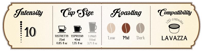 Lavazza Espresso Coffee Intenso Bar